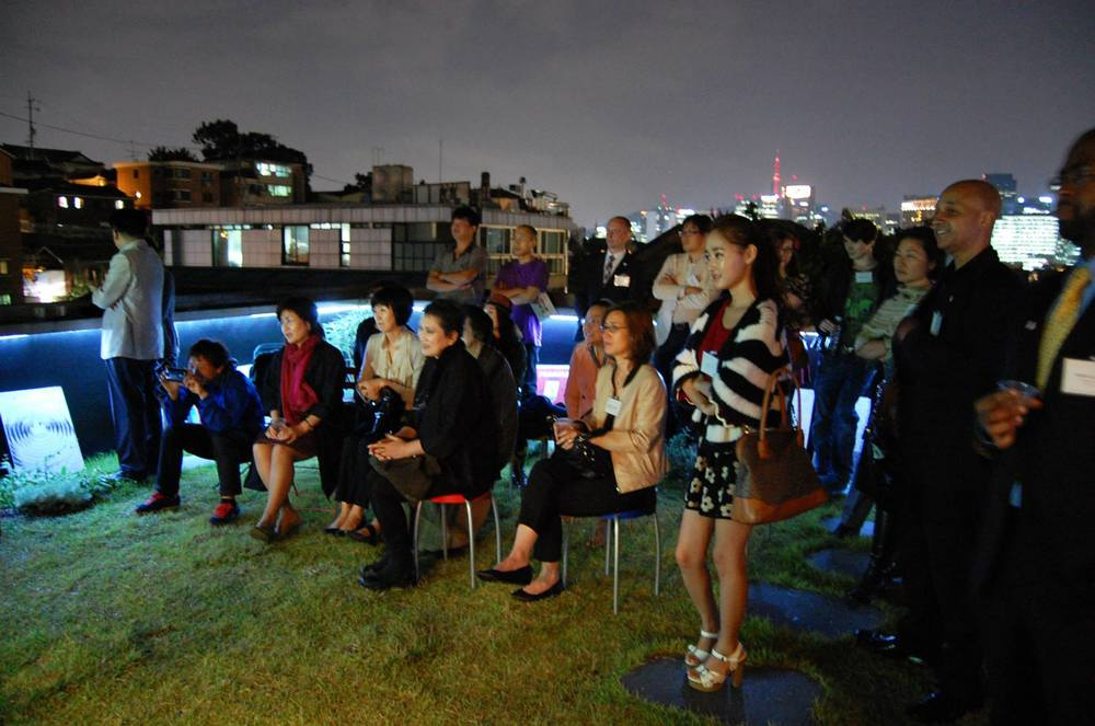 PEOPLE TO PEOPLE THROUGH ART | A ROOFTOP GATHERING