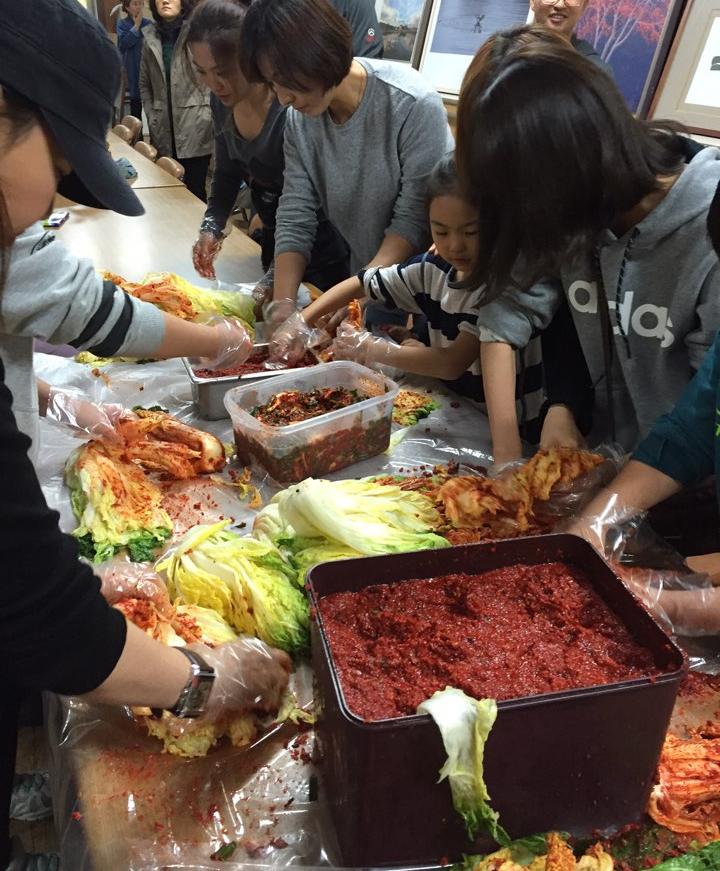 More Kimchi Making!!