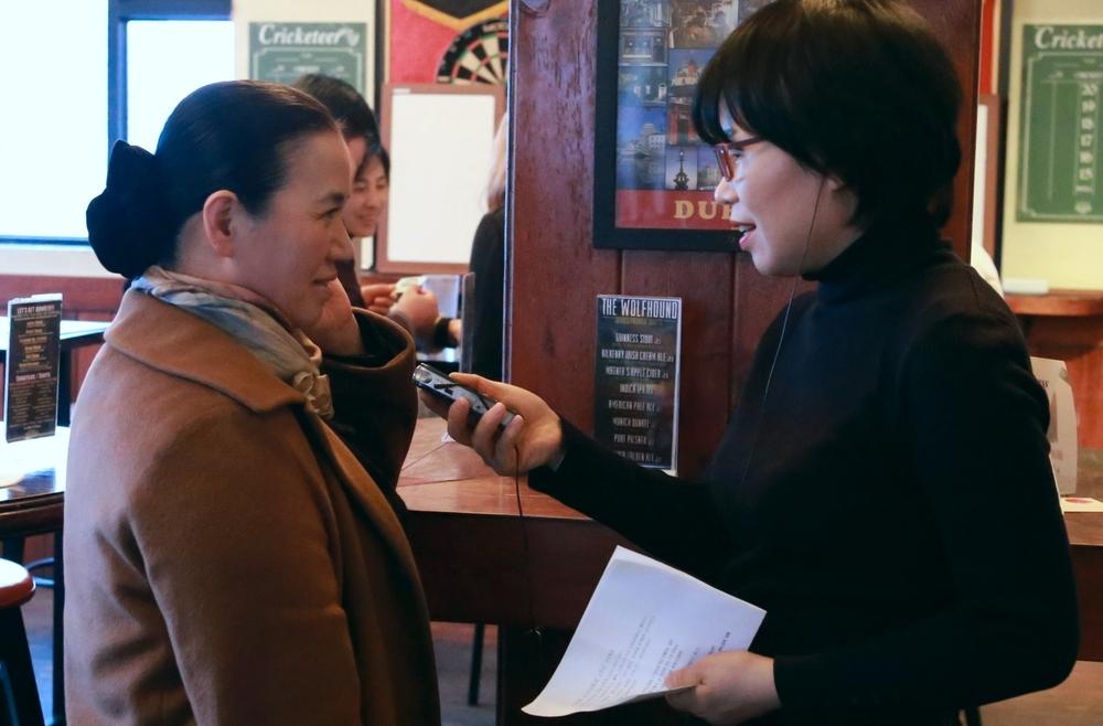 남은혜 명창 interview with KBS World Reporter.
