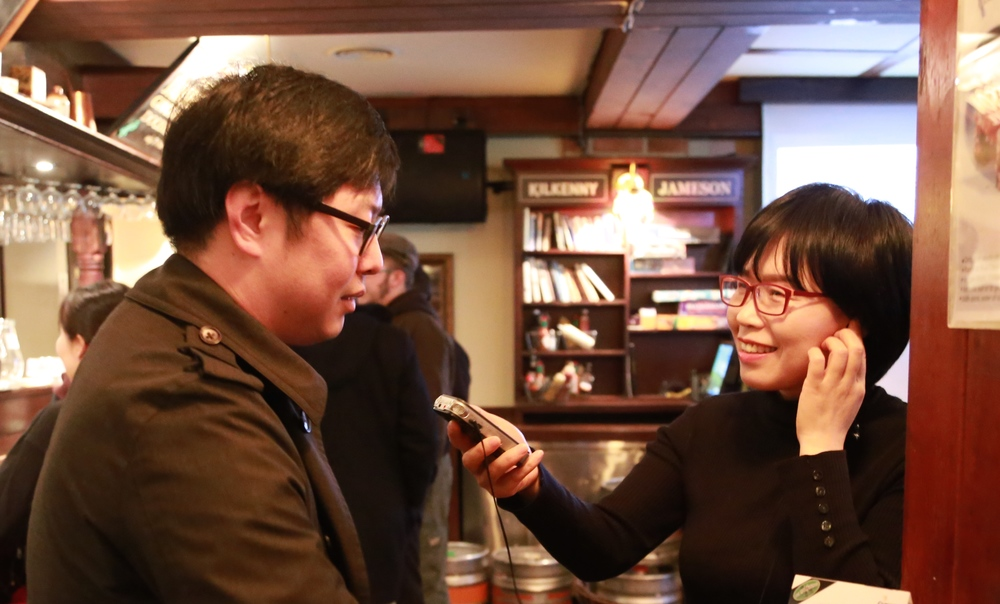 Mr. Alex Chang, Leadership Fellow, interview with KBS World Reporter.