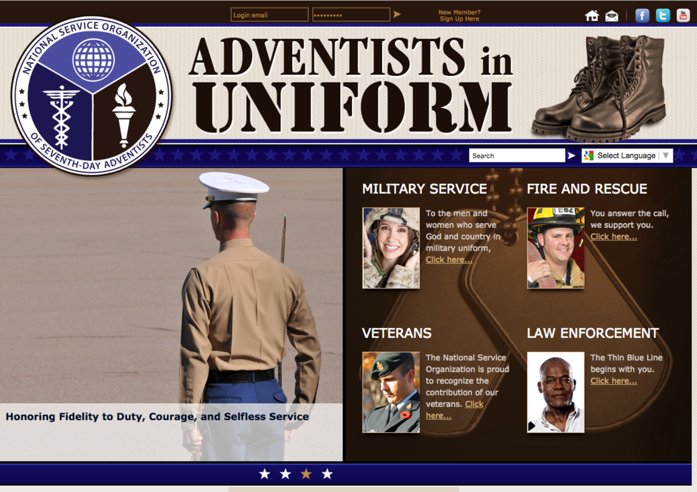 Visit http://www.adventistsinuniform.org/ for more information