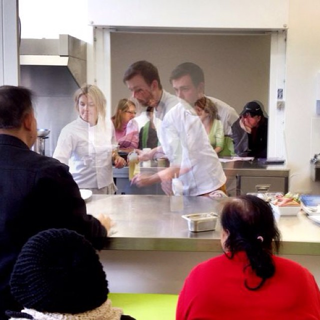 Hosting Cooking Classes, London 2014 with Calle Gustavsson.