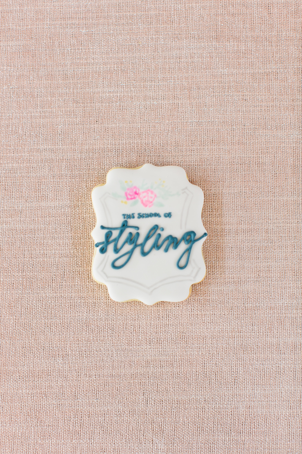 Cookie design | Frosting art | The School of Styling Nashville - A three-day hands-on workshop for creative entrepreneurs. http://www.theschoolofstyling.com