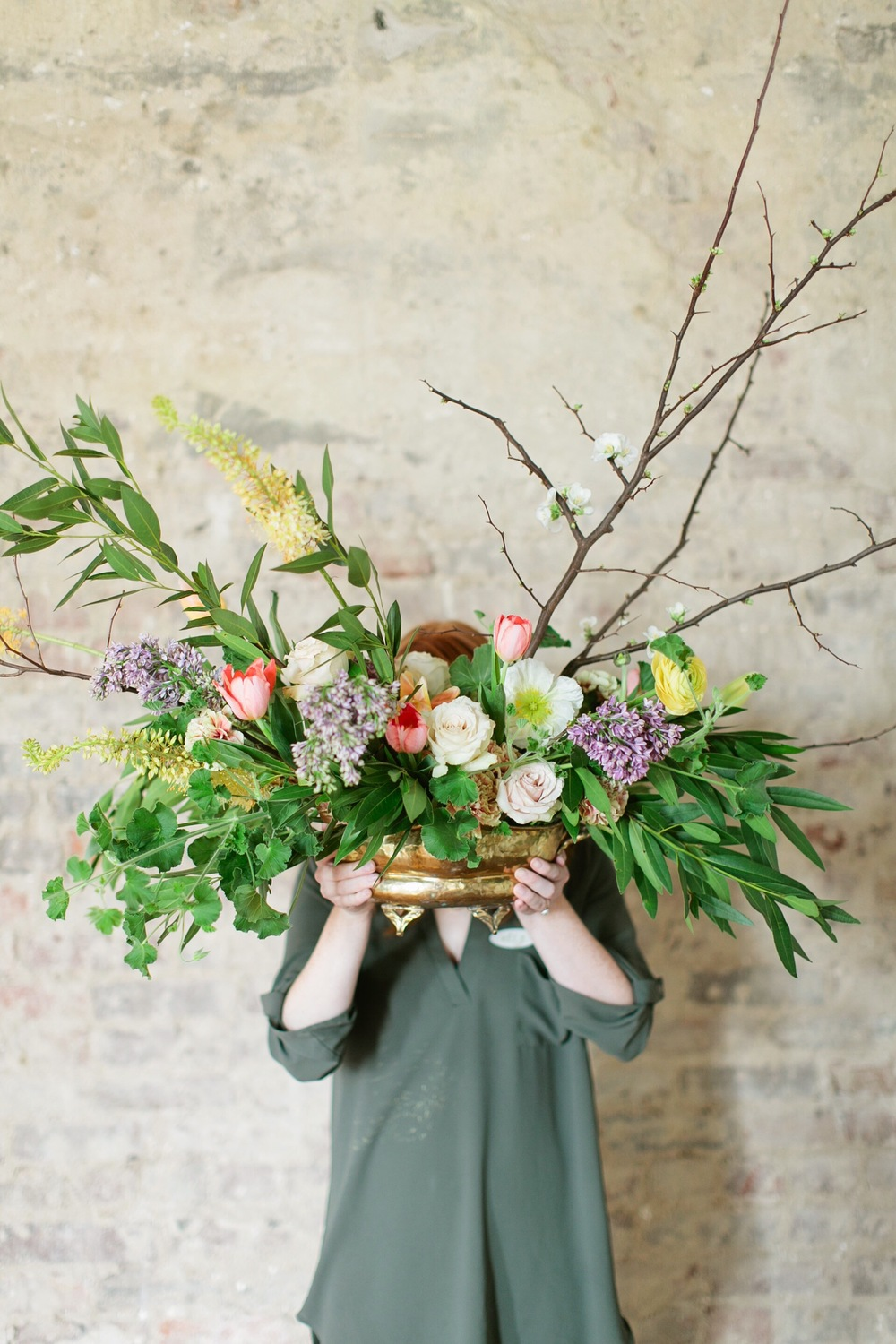 Floral arrangement inspiration | Nashville, Tennessee | The School of Styling - A three-day hands-on for creative entrepreneurs. http://www.theschoolofstyling.com