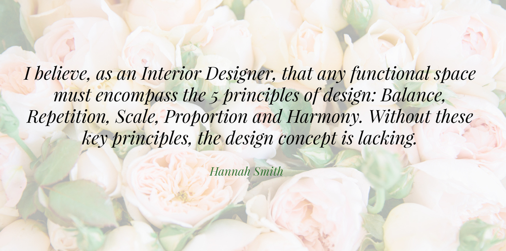 Five Principles of Interior Design | Written by Hannah Smith of Hannah Smith Design | The School of Styling - A three-day hands on workshop for creative entrepreneurs. http://www.theschoolofstyling.com