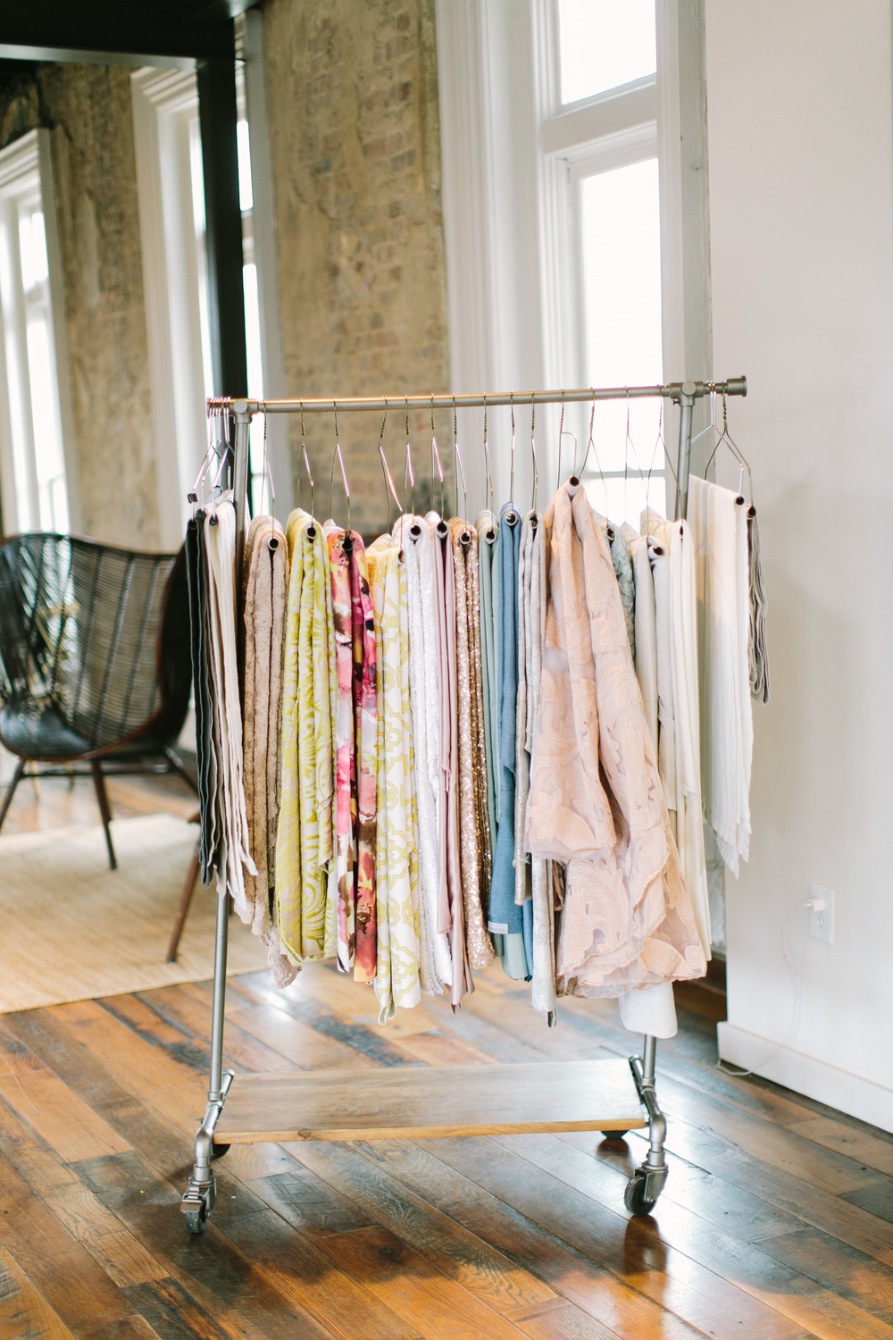 Clothing rack-fashion-styling-style-spring clothes-clothes styling-