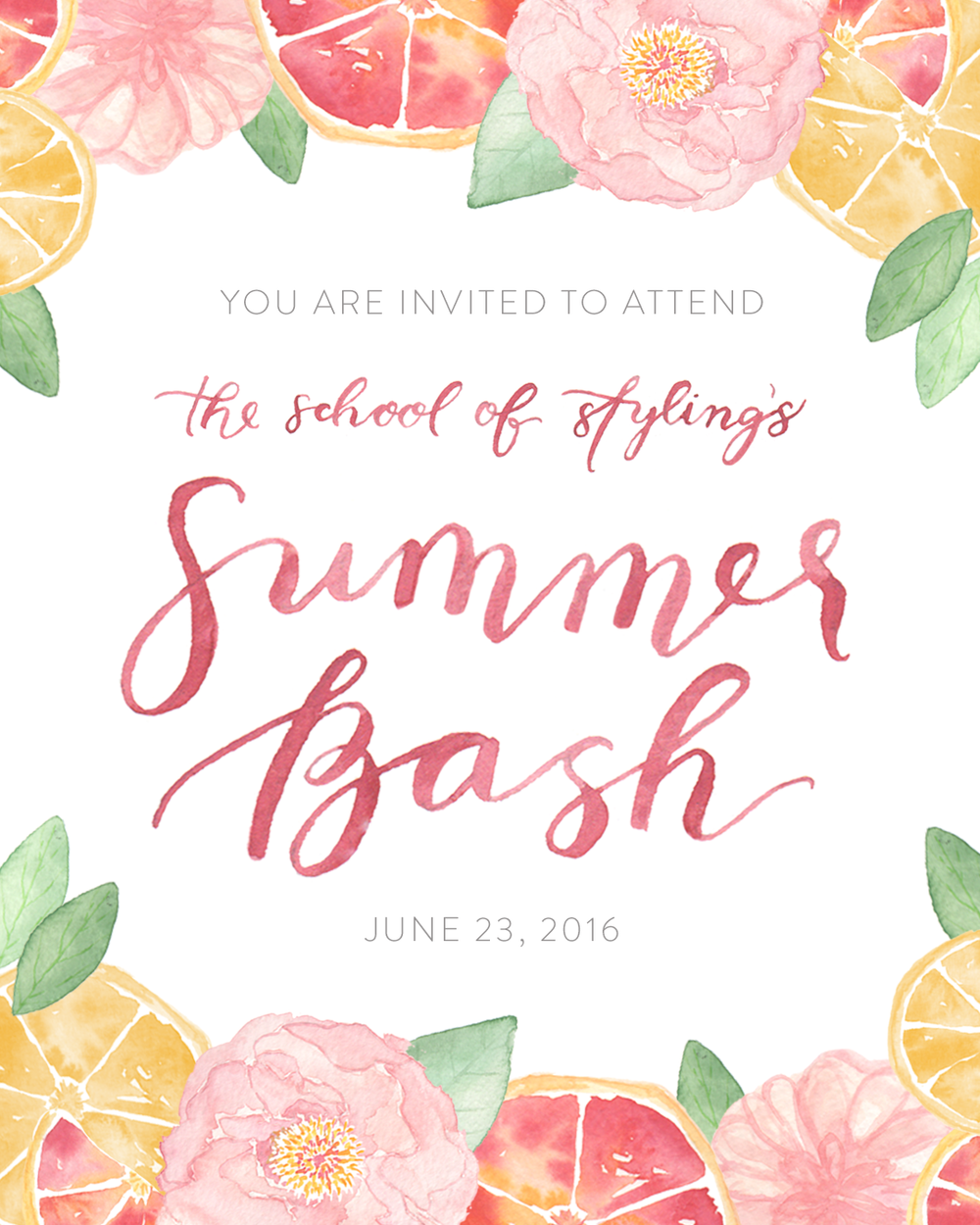 Invite design by  Sage Paper Co.