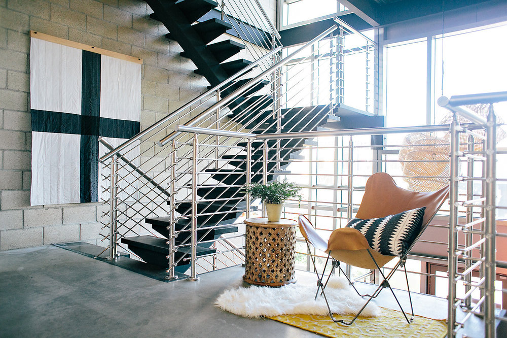Creative office space | Create & Cultivate Office tour | The School of Styling - http://www.theschoolofstyling.com