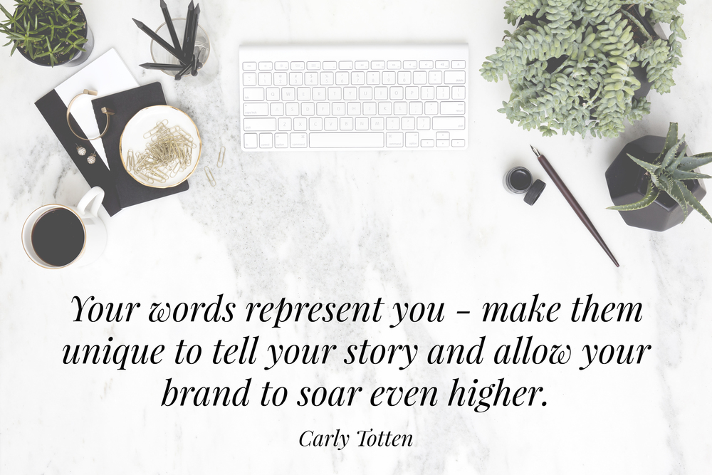 Carly Totten - Carly Is Inspired unique copywriting | Advice for copywriting | The School of Styling - theschoolofstyling.com