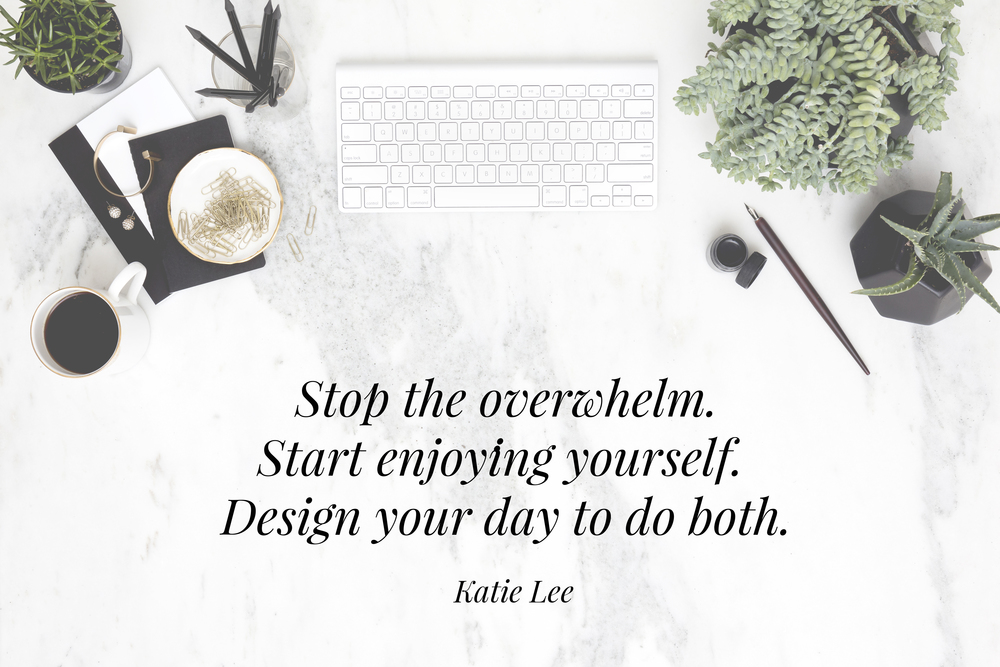 Katie Lee | Online course | How to have a productive day | The School of Styling - theschoolofstyling.com