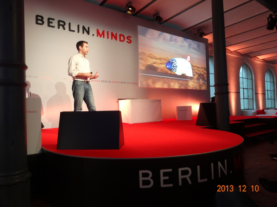 Cameron speaks at Berlin Minds.