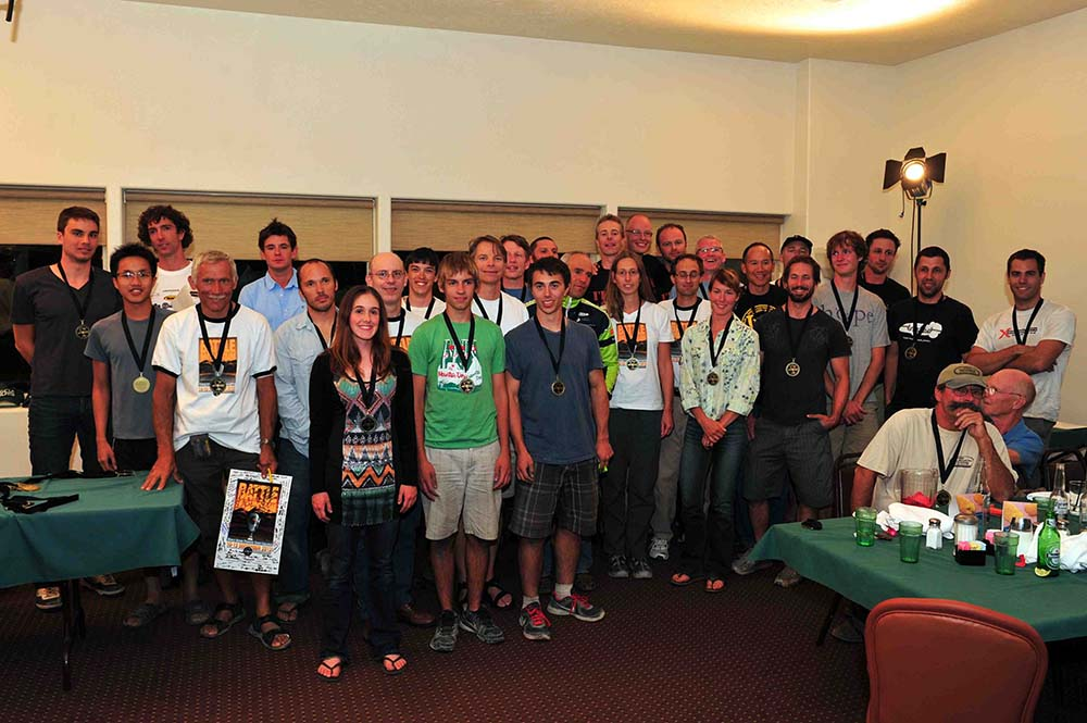 All the competitors of the 2012 WHPSC (Photo Credit Wim Schermer)