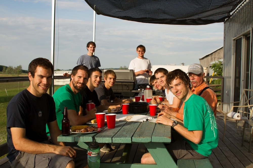 Members of the AeroVelo Team