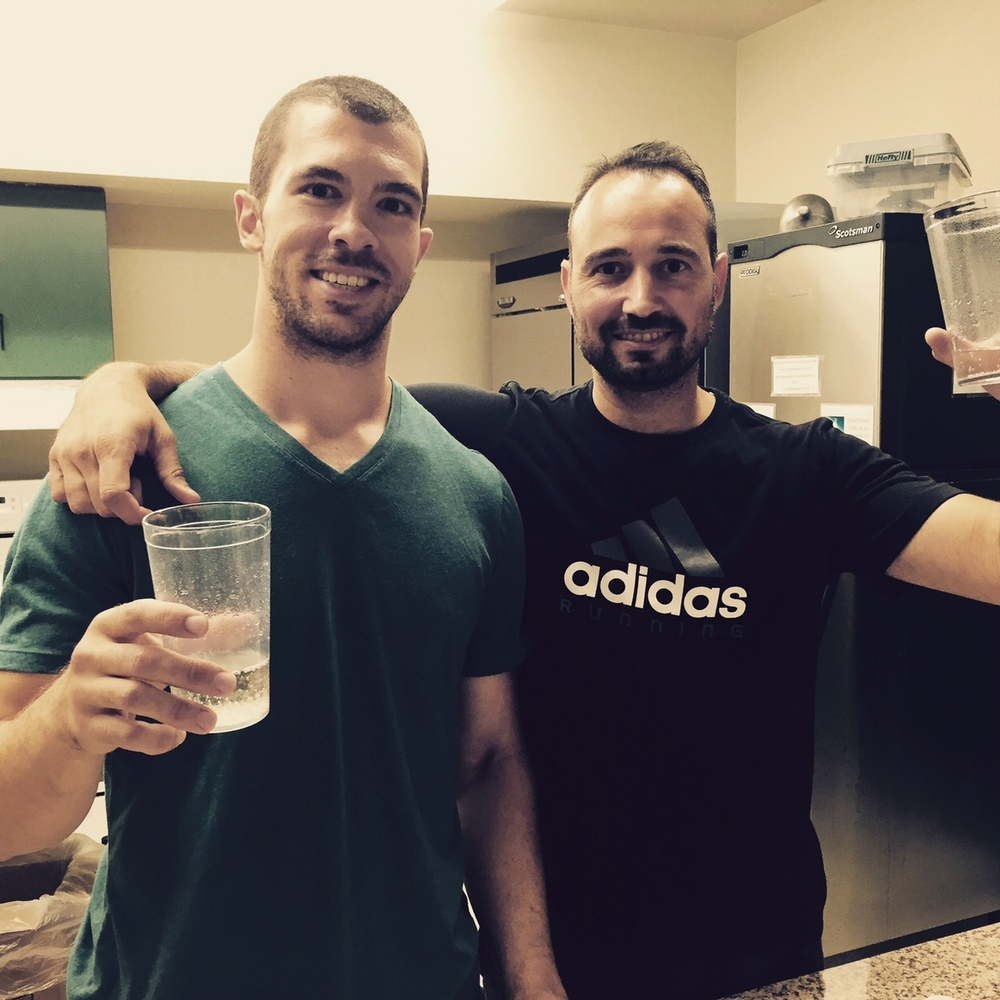 Emre & Ryan from Quest Health & Performance in Toronto.