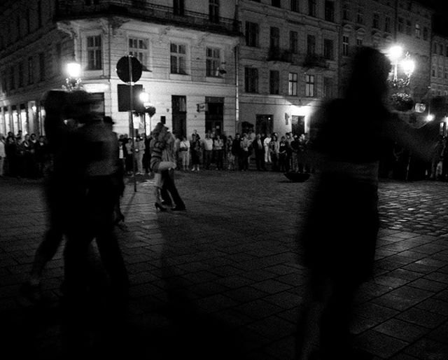 """Tango in the night"" (#Lviv, #Ukraine 2007) . . . #blackandwhitephotography #blackandwhite #bnw #bw #monochrome #nikon"