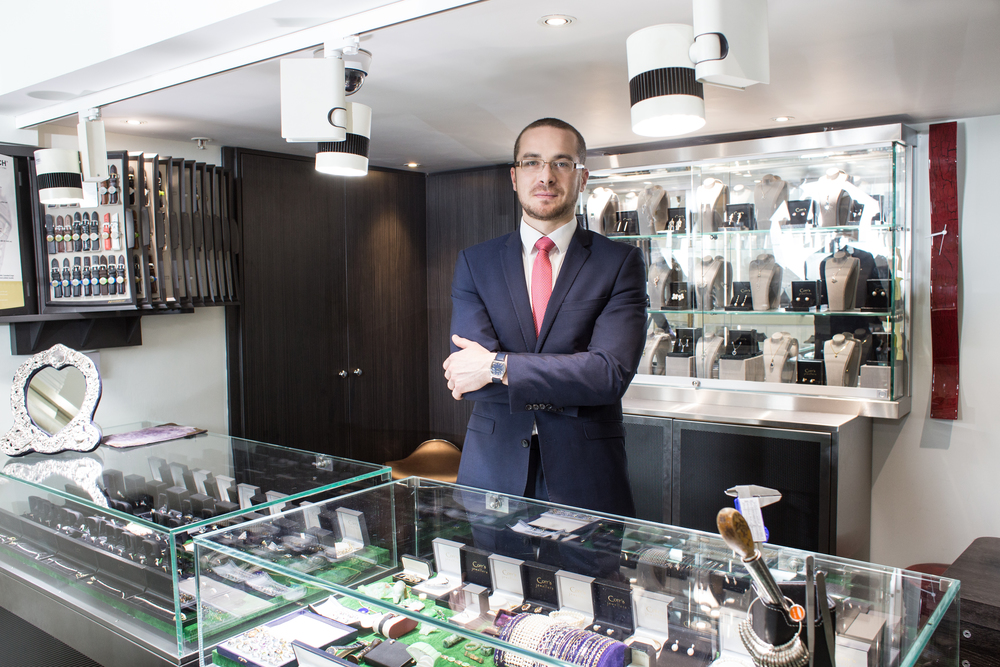 Cory's Jewellers Manager