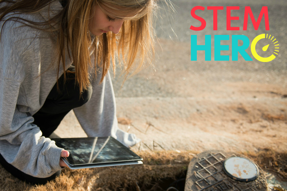 STEMhero empowers students by having them collect utility data at their own homes or schools.
