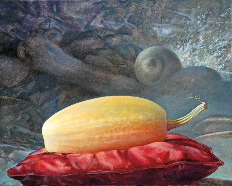 "Primary Squash  16"" x 20"" 2012, oil on linen"