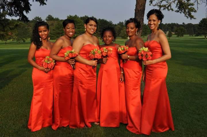 Mallard Wedding Bridesmaids