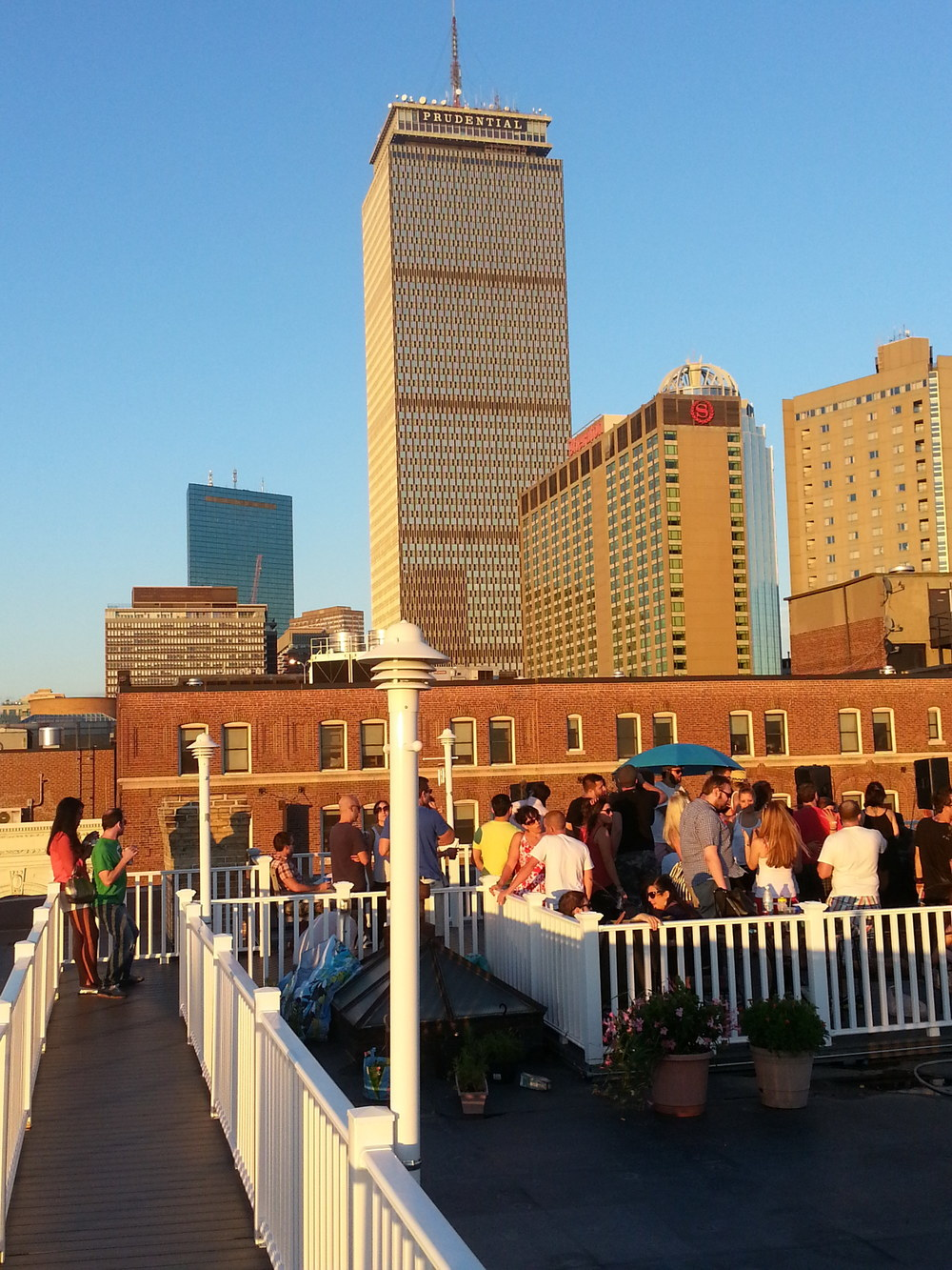 Private Roof Deck Party
