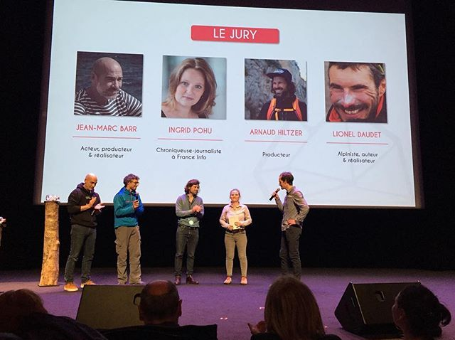 🎬 Jury member at @festival_aventure  last weekend. It was a great honor to watch 16 amazing films with @jmbarrparis #lioneldaudet and #ingridpohu 🏆The Grand Prix went to @benjaminsadd for his incredible film Dug Out. Let's keep making inspiring films 🤞🏻 #films #festival #adventure #community #travel #awards @helloemotion #cinema #jungle #mountains @gregoirecheron 📸 by @festival_aventure