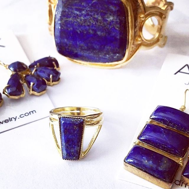 Lapis for days. #admk #jewelry #fashiongirl #prgirl #accessorize #fall2018
