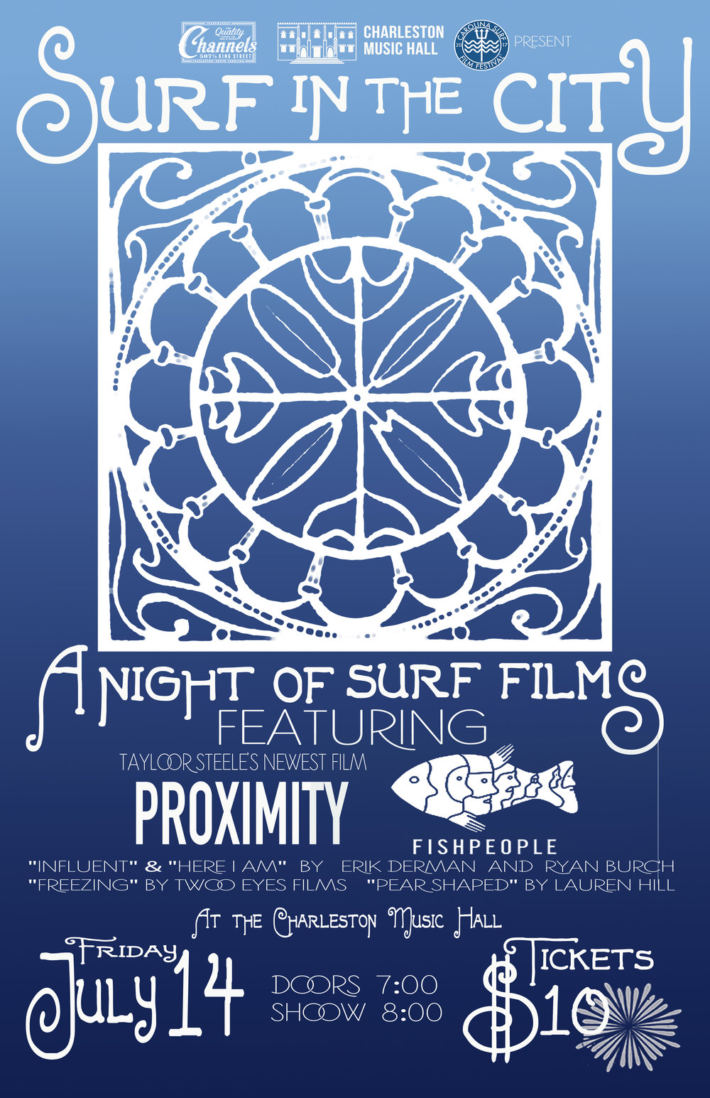Surf in The City for Charleston Music Hall
