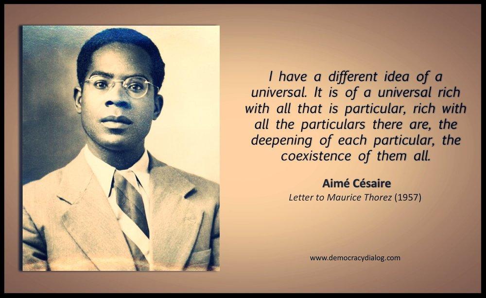 Aime Cesaire-coexistence