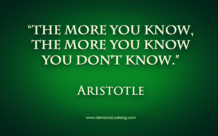 Aristotle-the more you know