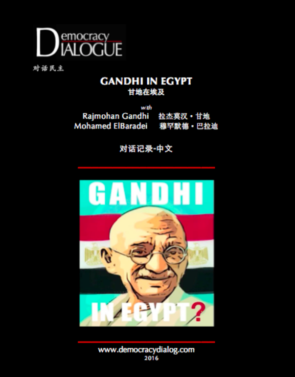 Gandhi in Egypt-Chinese