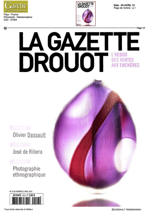 La Gazette Drouot - Avril 2015