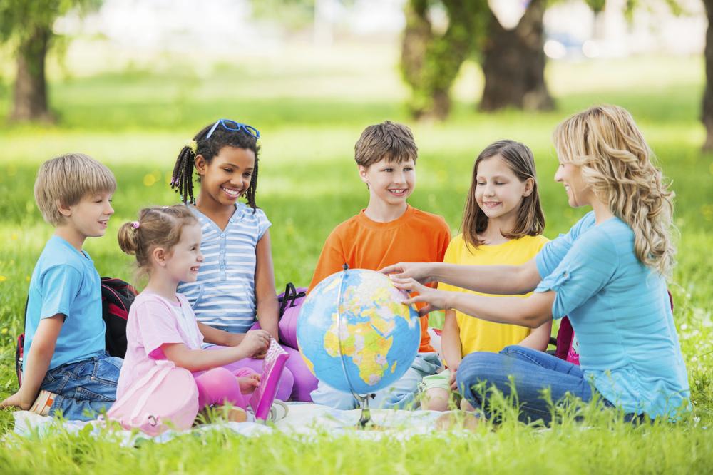 Kinder lernen Englisch