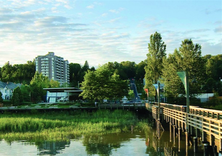 Home purchase down by the river in east Vancouver
