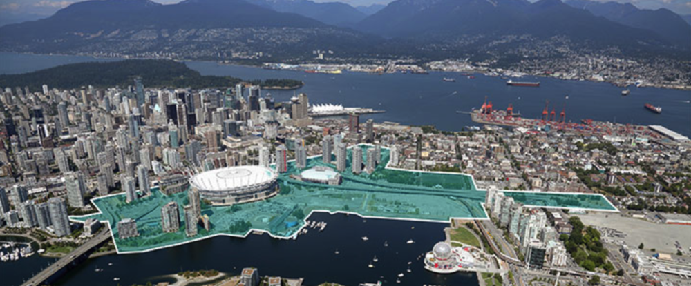 New false creek plan for Vancouver BC