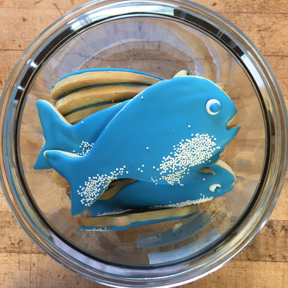 Here at Yummy Cookies winter is upon us but some things do make us feel like summer! Orders for custom cookies can be placed by email info@yummycookies.ca or by calling us 613-795-7842.