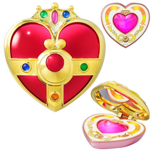 Sailor Moon Cosmic Heart Mirror Compact Prop Replica by Bandai