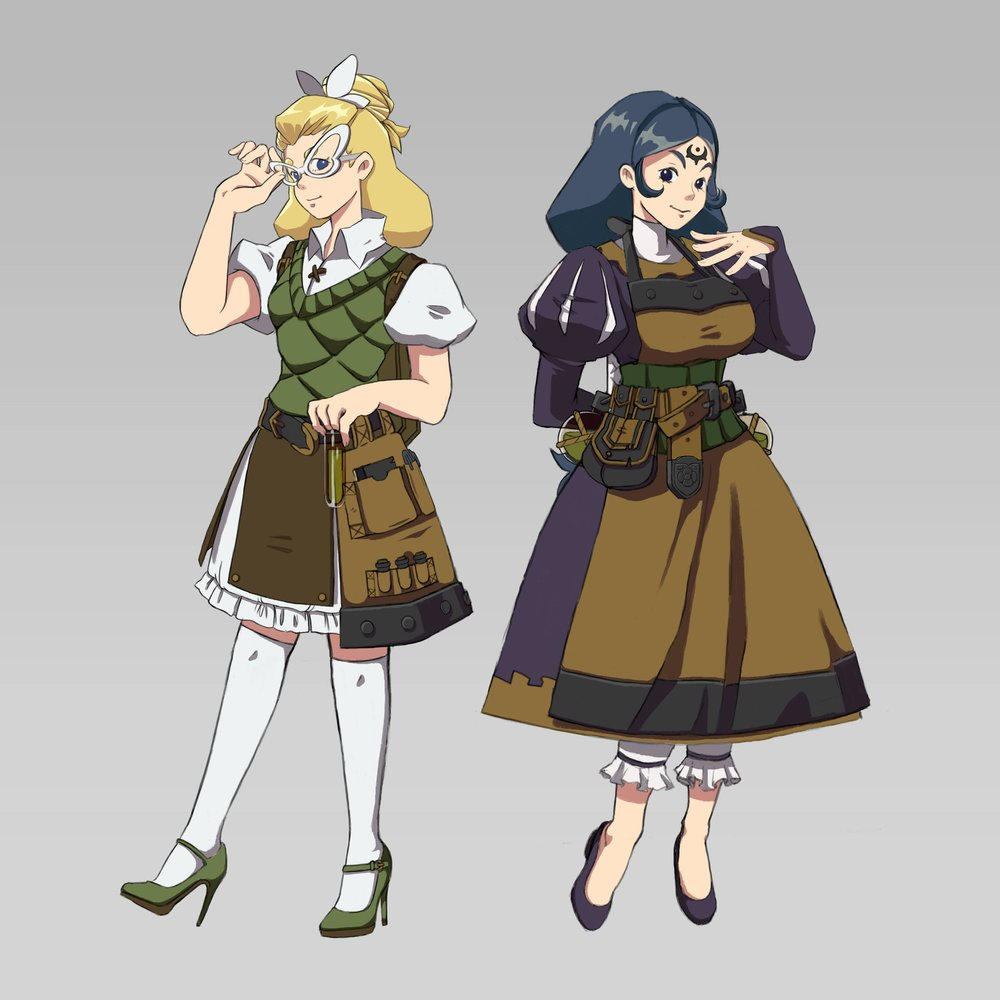 REVISED DESIGNS OF POTION NPC & POISON NPC