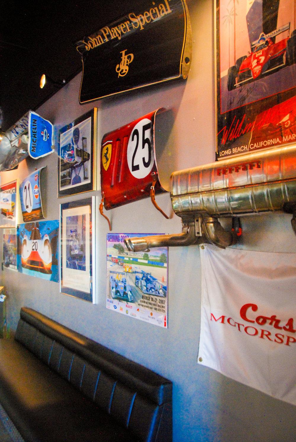 Garage Grill Wall of Stuff