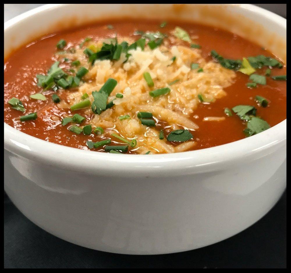 Soup Du Jour or Salt Flats Chili - Cup $4 Bowl $6
