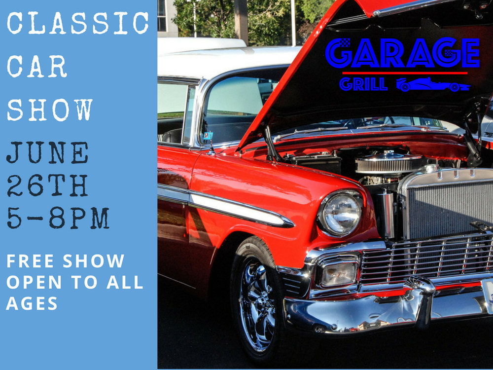 June Th Car Show The Garage Grill Restaurant Draper Utah - When is the next car show near me