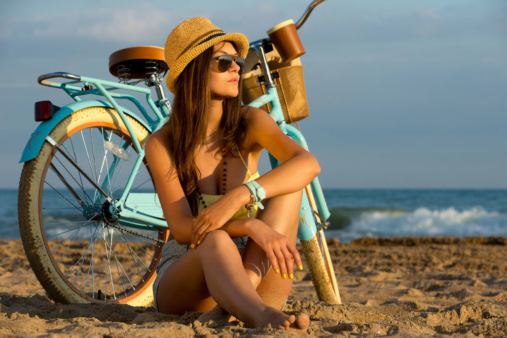 Girl-On-The-Beach-With-Bike-Lake-Michigan.jpg
