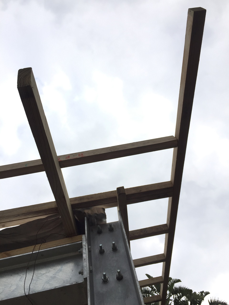 Garage purlins