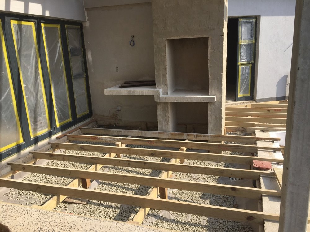 Decking substructure