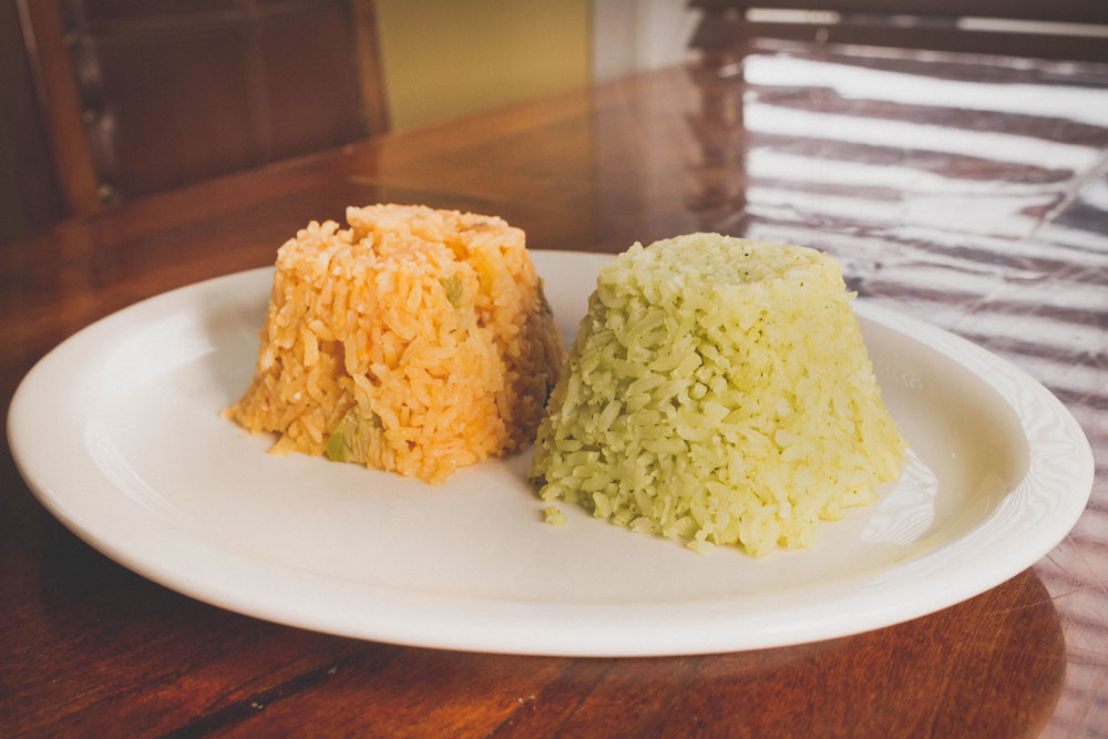 Mexican Rice & Poblano Rice