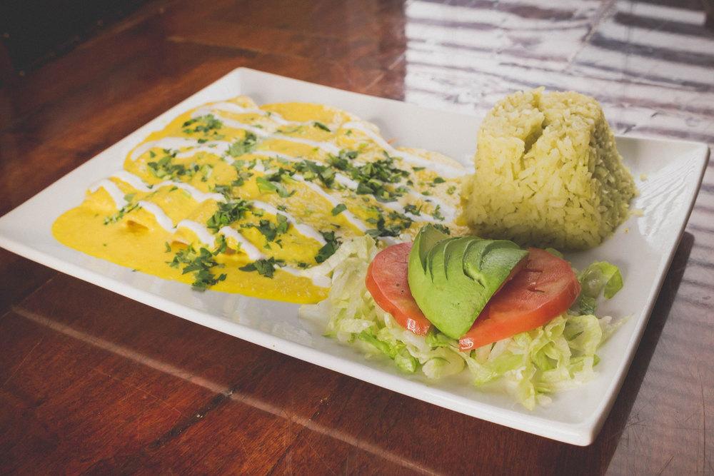 Enchiladas Habaneras