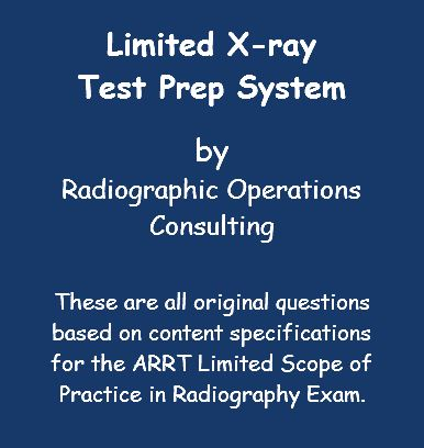 Limited X-ray Test Prep System