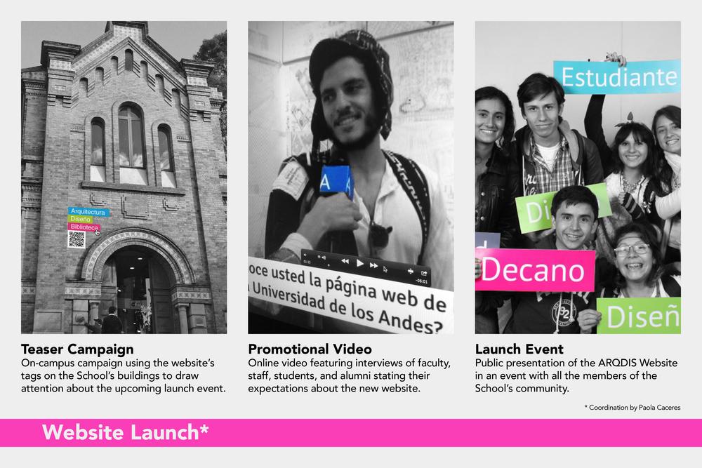 ARQDIS Website: Launch