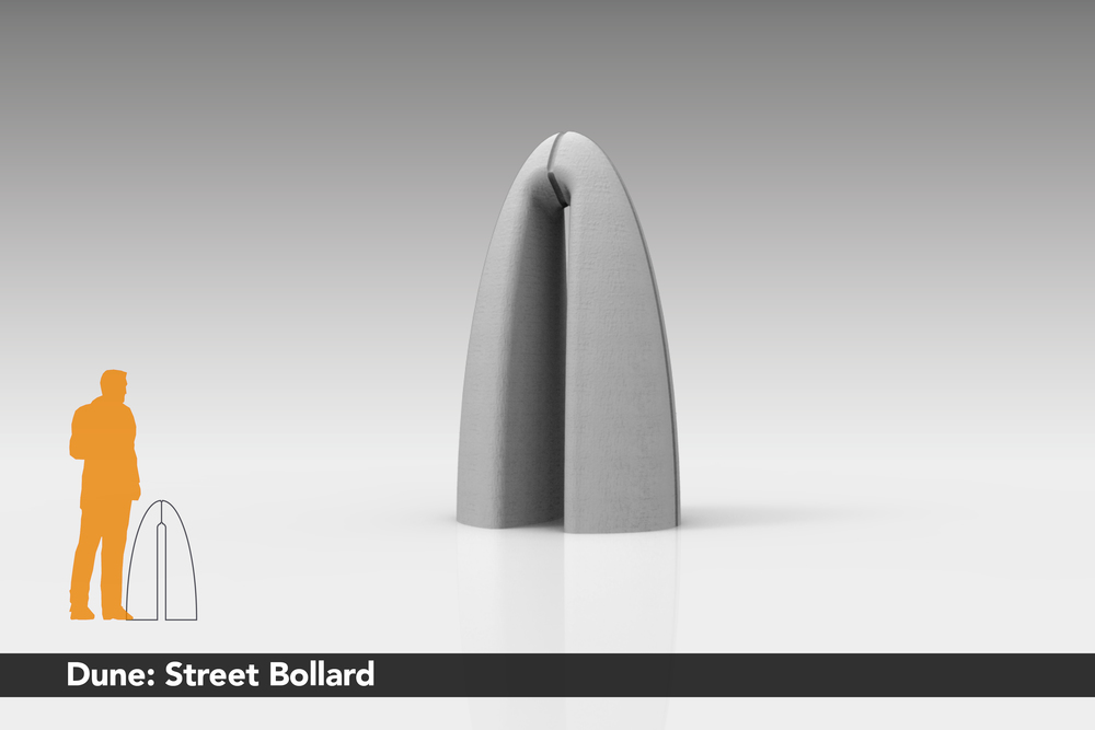 Dune: Street Bollard