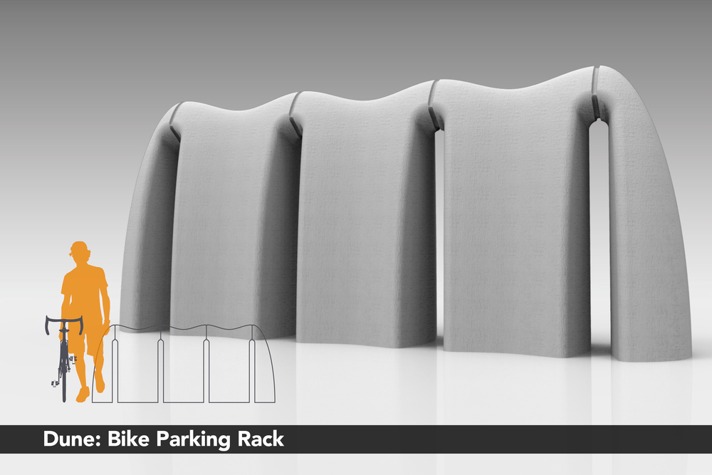 Dune: Bike Parking Rack