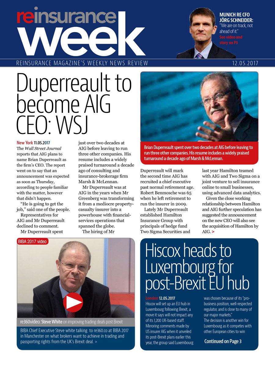 ReWeek 12 May 2017